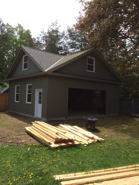 vinyl siding, soffit, fascia, eavestrough, windows and door