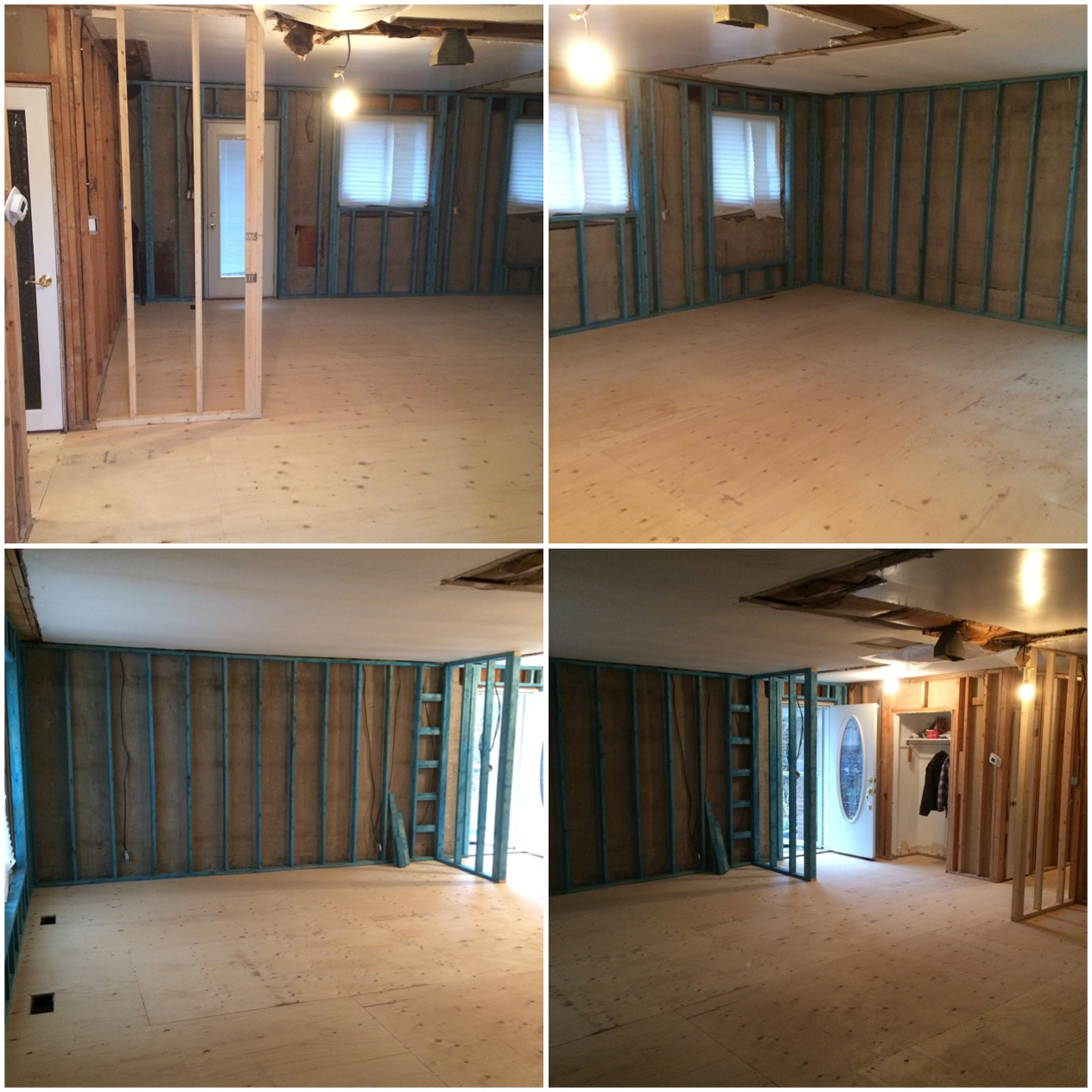 Main Floor Reframe