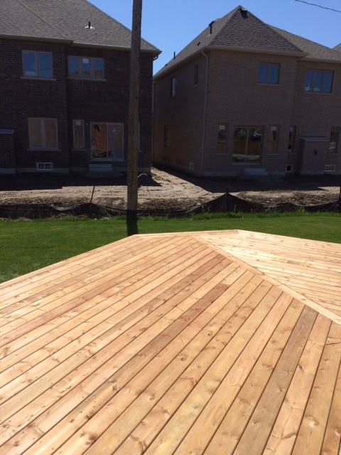 Pressure-Treated Deck, Custom Board Design