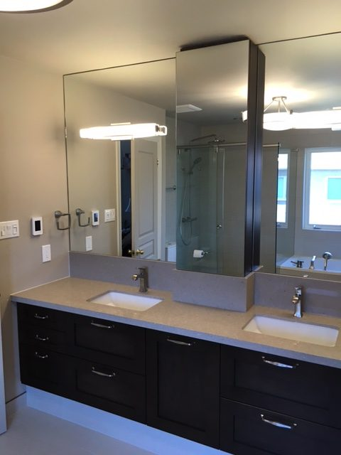 Custom Bathroom & Cabinetry
